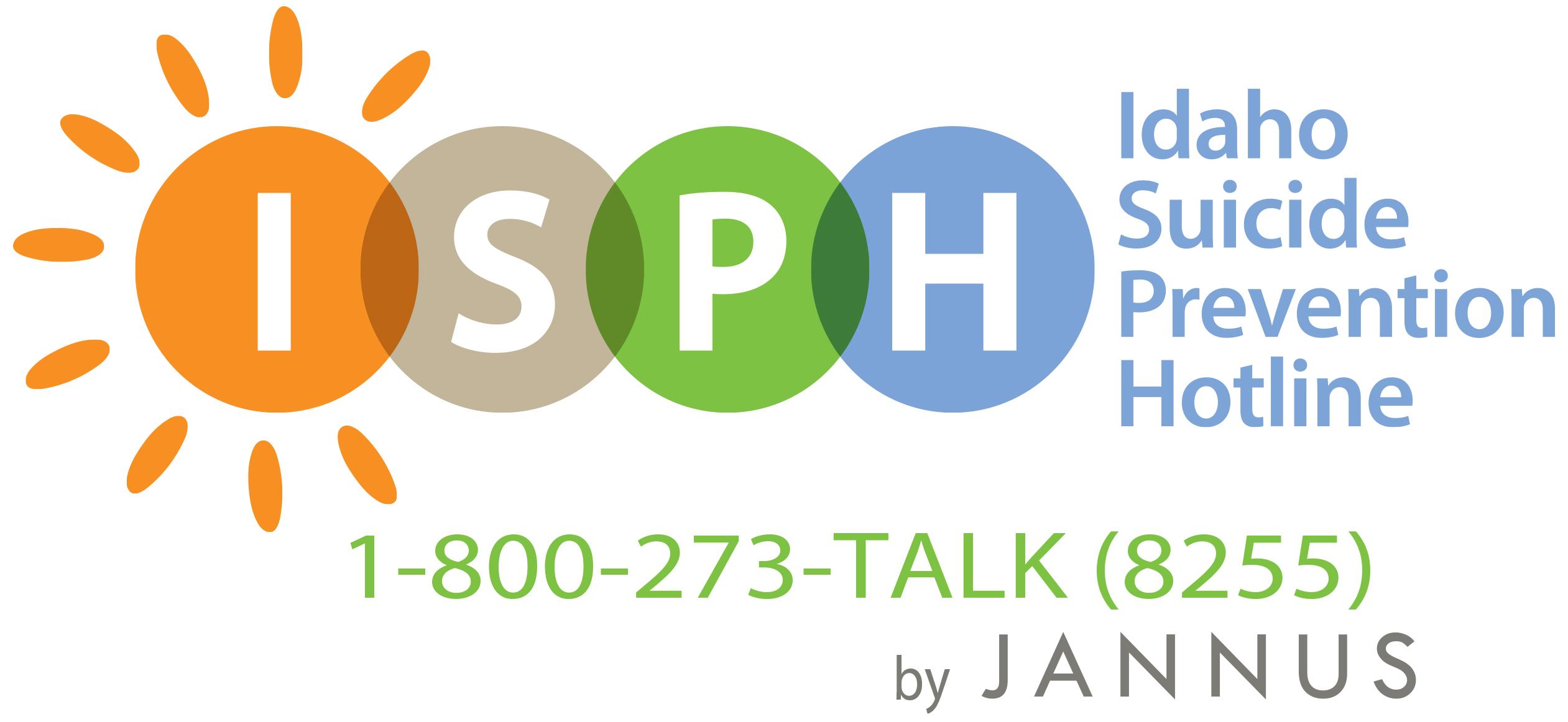 Idaho Suicide Prevention Hotline