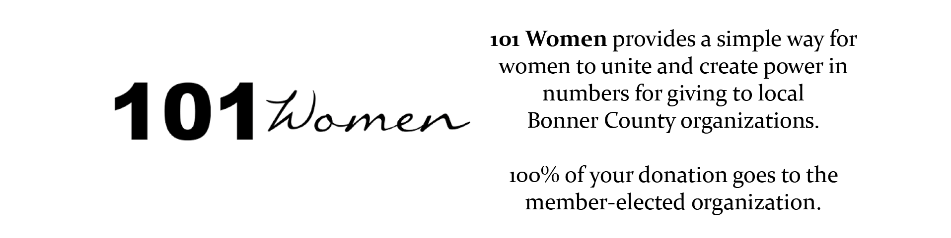 101 Women Inc